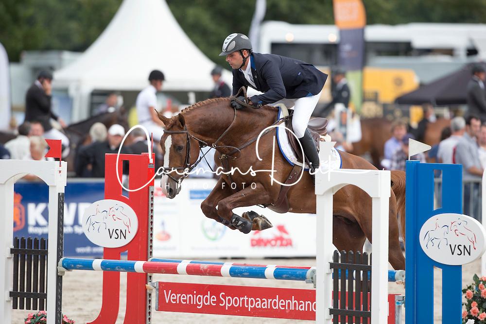 Keunen Pieter (NED) - Don Diablo<br /> KWPN Paardendagen - Ermelo 2012<br /> © Dirk Caremans