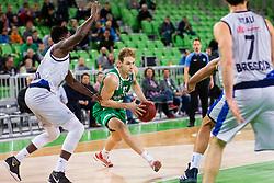 Jaka Blazic of Cedevita Olimpija during basketball match between teams KK Cedevita Olimpija and Germani Brescia in Round #7 of EuroCup 2019/20, on November 19, 2019, in Arena Stozice, Ljubljana, Slovenia. Photo by Patrik Jagodic / Sportida