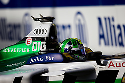 April 14, 2018 - Rome, RM, Italy - Lucas Di Grassi of Audi Sport Racing during Rome E-Prix Round 7 as part of the ABB FIA Formula E Championship on April 14, 2018 in Rome, Italy. (Credit Image: © Danilo Di Giovanni/NurPhoto via ZUMA Press)
