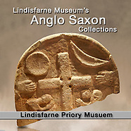 MuseoPics - Photos of Lindisfarne Priory Museum Anglo Saxon Exhibits, Pictures & Images