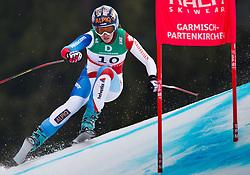 13.02.2011, Kandahar, Garmisch Partenkirchen, GER, FIS Alpin Ski WM 2011, GAP, Damen, Abfahrt, im Bild Dominique Gisin (SUI) // Dominique Gisin (SUI) during Downhill Ladies Fis Alpine Ski World Championships in Garmisch Partenkirchen, Germany on 13/2/2011. EXPA Pictures © 2011, PhotoCredit: EXPA/ J. Groder