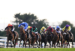 Empress Lyla ridden by Gary Carroll (left) on the way to winning the Arthur Guinness Handicap on Friday's Fair Lady Day of the Galway Summer Festival at Galway Racecourse.