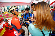 Chun Kai Feng (TWN - Bahrain - Merida) during the Tour of Guangxi 2018, Stage 3, Nanning - Nanning (125,4 km) on October 18, 2018 in Nanning, China - photo Luca Bettini / BettiniPhoto / ProSportsImages / DPPI