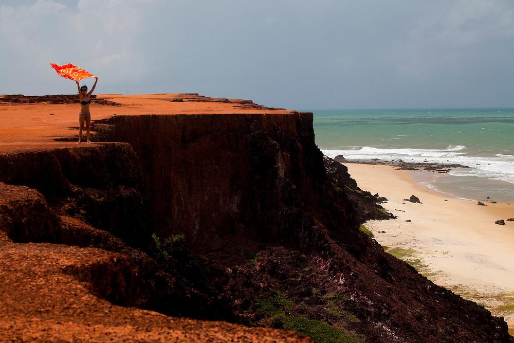 Tibau do Sul_RN, Brasil...Regiao de Pipa. Na foto, o chapadao praia do Amor...The Pipa region. In this photo, Amor beach...Foto: LEO DRUMOND / NITRO