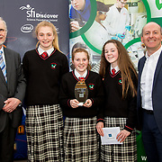 27.04.2016.          <br />  Kalin Foy and Ciara Coyle win SciFest@LIT<br /> Kalin Foy and Ciara Coyle from Colaiste Chiarain Croom to represent Limerick at Ireland's largest science competition.<br /> <br /> Hazelwood College students, Roisin Normoyle, Aoife O'Callaghan and Ciara McCarthy's project, Does wisdom come with age?, won the EPISTEM best use of maths project. Roisin Normoyle, Aoife O'Callaghan and Ciara McCarthy are  pictured with George Porter, SciFest and Brian Aherne, Intel<br /> <br /> Of the over 110 projects exhibited at SciFest@LIT 2016, the top prize on the day went to Kalin Foy and Ciara Coyle from Colaiste Chiarain Croom for their project, 'To design and manufacture wireless trailer lights'. The runner-up prize went to a team from John the Baptist Community School, Hospital with their project on 'Educating the Youth of Ireland about Farm Safety'.  Picture: Alan Place