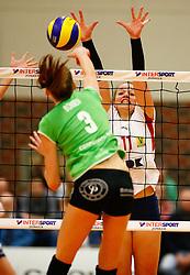 20141217 NED: Challenge Cup, Coolen Alterno - VDK Gent: Apeldoorn<br />Bianca Gommans, VDK Gent<br />©2014-FotoHoogendoorn.nl / Pim Waslander