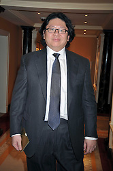 BRUNO WANG at the 3rd Fortune Forum Summit held at The Dorchester Hotel, Park Lane, London on 3rd March 2009.