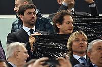 Andrea Agnelli, John Elkann, PAvel Nedved <br /> Torino 14-04-2015 Juventus Stadium Football Uefa Champions League 2014/2015 Juventus - Monaco  . Foto Andrea Staccioli / Insidefoto