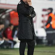 Besiktas's coach Carlos CARVALHAL during their Turkish superleague soccer match Besiktas between Kayserispor at BJK Inonu Stadium in Istanbul Turkey on Saturday, 15 October 2011. Photo by TURKPIX