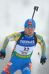 Vita Semerenko (UKR) at Women 15 km Individual at E.ON Ruhrgas IBU World Cup Biathlon in Hochfilzen (replacement Pokljuka), on December 18, 2008, in Hochfilzen, Austria. (Photo by Vid Ponikvar / Sportida)