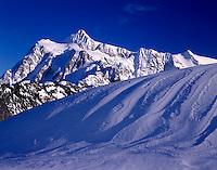 Winter Mount Shuksan, North Cascades National Park Washington