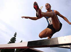 Cene Subic at Athletic National Championship of Slovenia, on July 20, 2008, in Stadium Poljane, Maribor, Slovenia. (Photo by Vid Ponikvar / Sportal Images).