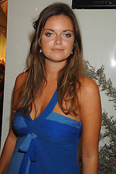 LADY NATASHA RUFUS-ISAACS at a party to launch jeweller Boodles new store at 178 New Bond Street, London W1 on 26th September 2007.<br /><br />NON EXCLUSIVE - WORLD RIGHTS