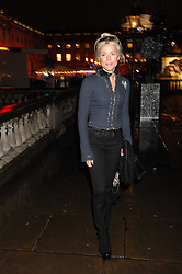 DAPHNE GUINNESS at a Winter Party to celebrate the opening of the Ice Rink at Somerset House, London in association with jewellers Tiffany on 20th November 2007.<br />