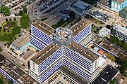 Nederland, Noord-Holland, Amsterdam, 14-06-2012; Slotervaart Ziekenhuis, detail. Slotervaart hospital in West-Amsterdam..luchtfoto (toeslag), aerial photo (additional fee required).foto/photo Siebe Swart