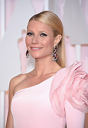 Feb 22, 2015 - Hollywood, California, U.S. - Actress GWYNETH PALTROW on the red carpet during arrivals for the 87th Academy Awards held at the Dolby Theatre in Hollywood, Los Angeles, CA, USA (Credit Image: © Lisa O'Connor/ZUMA Wire/ZUMAPRESS.com)