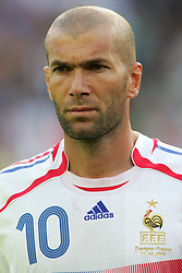 Jun 27, 2006; Hanover, GERMANY; Zinedine Zidane at the match France vs Spain during the FIFA World Cup 2006. France beat Spain 3-1 securing their place in the quarter-finals (Credit Image: © JP THOMAS/FEP/Panoramic/ZUMAPRESS.com)