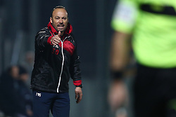 November 12, 2017 - Teramo, TE, Italy - Antonino Asta head coach of Teramo Calcio 1913 during the Lega Pro 17/18 group B match between Teramo Calcio 1913 and AS Gubbio 1910 at Gaetano Bonolis stadium on November 12, 2017 in Teramo, Italy. (Credit Image: © Danilo Di Giovanni/NurPhoto via ZUMA Press)