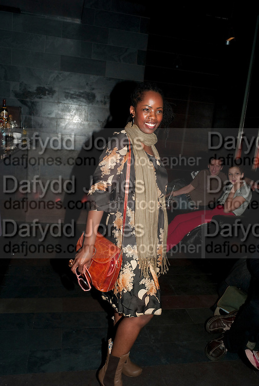 LORNA BROWN;  Clybourne Park Press night. Opened at Wyndham's Theatre. Party afterwards at Mint Leaf, Haymarket, London. 8 February 2011.  -DO NOT ARCHIVE-© Copyright Photograph by Dafydd Jones. 248 Clapham Rd. London SW9 0PZ. Tel 0207 820 0771. www.dafjones.com.