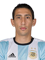 Conmebol - World Cup Fifa Russia 2018 Qualifier / <br /> Argentina National Team - Preview Set - <br /> Angel Di Maria
