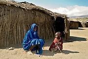 Young Maasai people.