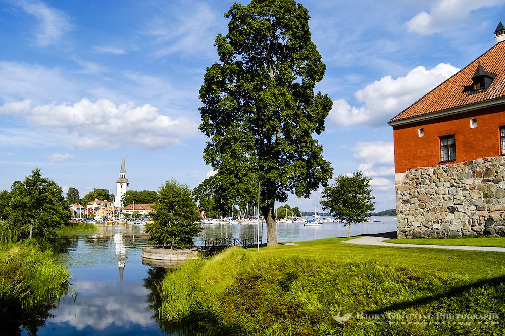 Sweden, Mariefred. Mälaren lake.