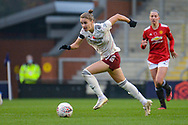 Arsenal Women forward Vivianne Miedema (11) in action during the FA Women's Super League match between Manchester United Women and Arsenal Women FC at Leigh Sports Village, Leigh, United Kingdom on 8 November 2020.