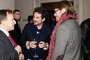 TONY CHAMBERS, JAIME HAYON;  LLOYD THOMAS, Wallpaper Design Awards 2012. 10 Trinity Square<br /> London,  11 January 2011.