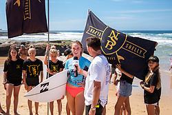 Macy Callaghan in the 2019 Australian Boardriders Battle National Final