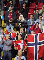 05.12.2008 Ohrid(FYR Macedonia)<br />Ukraine-Norway European women's handball championship<br /> Norway fans <br />Foto:Aleksandar Djorovic
