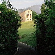 The Church of St Mary at Mount Naranco, Oviedo, Asturias, Spain