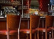 restaurant, dining  Bar, art deco, diner, stamford, connecticut, city limits, liquor, booze, alcohol, bar stools.
