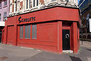 Exterior of Scarlets gentlemens club on 30th March 2021 in Birmingham, United Kingdom.