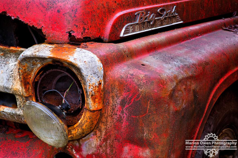 Old red firetruck retires in Kodiak, Alaska