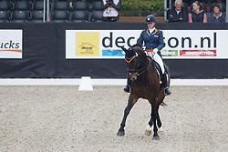 Zoutendijk Lisanne, (NED), Kostendrukkers Ringo Star<br /> Roelofsen Horse Trucks Juniors Final<br /> Dutch Championship Dressage - Ermelo 2015<br /> © Hippo Foto - Dirk Caremans<br /> 19/07/15