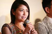 Masami Nagasawa, at Press Conference for John Woo's forthcoming film The Crossing, Saturday 17th May 2014, Cannes, France.