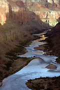 Sunset from above the Nankoweap Delta, Marble Canyon, Grand Canyon National Park, Arizona, US
