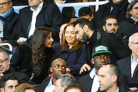 La Fouine / Malika MENARD - 28.04.2015 - Paris Saint Germain / Metz - Match en retard - 32eme journee Ligue 1<br />Photo : Nolwenn Le Gouic / Icon Sport