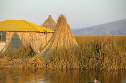 Hut On Floating Island