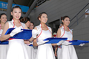 Beijing, CHINA. A Finals, presentation party,  at  the  2007. FISA Junior World Rowing Championships,  Shunyi Water Sports Complex. 11/08/2007 [Photo, Peter Spurrier/Intersport-images]..... , Rowing Course, Shun Yi Water Complex, Beijing, CHINA,