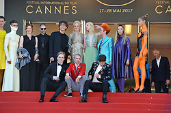 "70 Cannes Film Festival, Red Carpet film ""How to take girls to parties"". 21 May 2017 Pictured: Red Carpet film ""How to take girls to parties"" Elle Fanning, Nicole Kidman, Cameron Mitchell. Photo credit: Pongo / MEGA TheMegaAgency.com +1 888 505 6342"