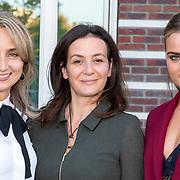 NLD/Amsterdam/20181005 - Benefietdiner Kluivert Dog rescue, Henrietta Berkamp - Ruizendaal met dochter ............ en ..........