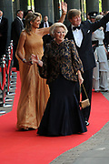 H.R.H. Princess Máxima of the Netherlands to Celebrate Her Birthday With a Few of Her Closest Royal Friends with a concert in the Concertbuilding in Amstyerdam.<br /> <br /> Her Royal Highness Princess Máxima of the Netherlands will be celebrating her 40th birthday in a concert of the Royal Concertgebouw Orchestra at the Concertgebouw in Amsterdam.<br /> <br /> Besides friends, family, members of foreign royal houses there will also be people there with whom she has worked with the for the past 10 years.<br /> <br /> On the Photo:<br /> <br />  Princes Maxima and Queen Beatrix
