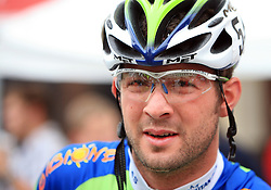 Alberto Curtolo of Italia (Liquigas) just before start in last 4th stage of the 15th Tour de Slovenie from Celje to Novo mesto (157 km), on June 14,2008, Slovenia. (Photo by Vid Ponikvar / Sportal Images)/ Sportida)