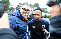 AFC Bournemouth's Nathaniel Clyne arrives at the ground before the Emirates FA Cup, third round match at the Vitality Stadium, Bournemouth.