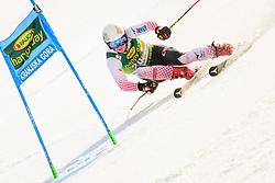 March 9, 2019 - Kranjska Gora, Kranjska Gora, Slovenia - Filip Zubcic of Croatia in action during Audi FIS Ski World Cup Vitranc on March 8, 2019 in Kranjska Gora, Slovenia. (Credit Image: © Rok Rakun/Pacific Press via ZUMA Wire)