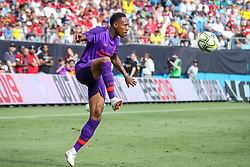 July 22, 2018 - Charlotte, North Carolina, USA - Liverpool defender Nathaniel Clyne (2) during an International Champions Cup match at Bank of America Stadium in Charlotte, NC.  Borussia Dortmund of the German Bundesliga beat Liverpool of the English Premier League 3 to 1. (Credit Image: © Jason Walle via ZUMA Wire)