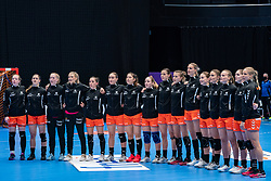 Team Netherlands during the Women's friendly match between Netherlands and Slovenia at De Maaspoort on march 19, 2021 in Den Bosch, Netherlands (Photo by RHF Agency/Ronald Hoogendoorn)
