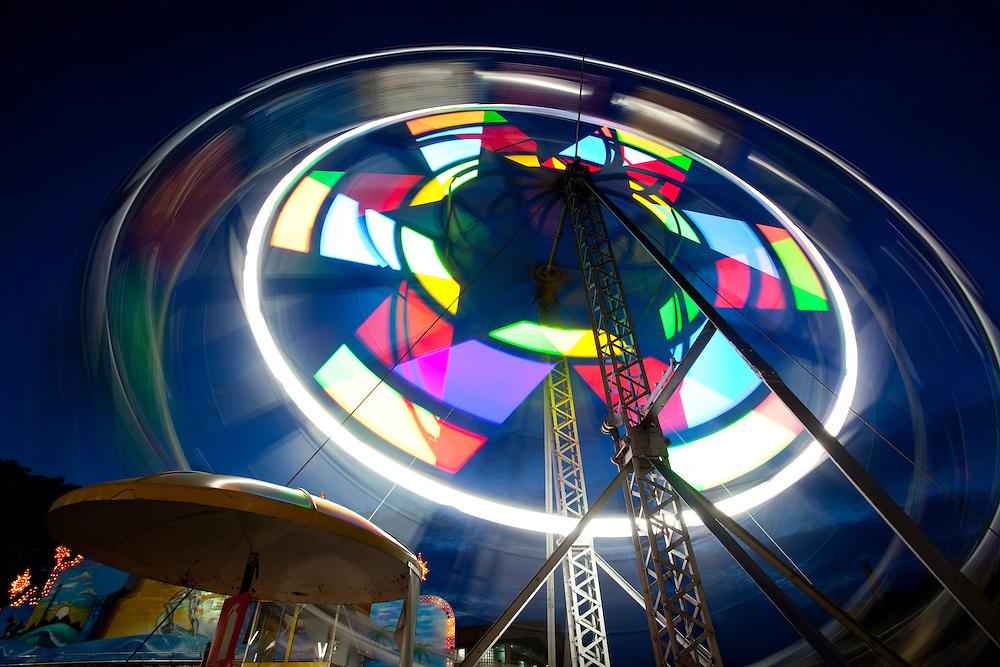Belo Horizonte_MG, Brasil...Roda gigante no Parque Guanabara em Belo Horizonte...The ferris wheel of Guanabara Park in Belo Horizonte...Foto: LEO DRUMOND / NITRO