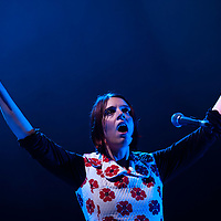 London, UK - 12 November 2012: The Chap perform live at HMV Hammersmith Apollo as supporting band to Gotye.
